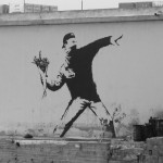 Banksy - Flowers for the Princess?