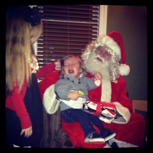 Little Dude - Not a Fan of Santa