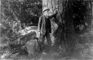 Dude + Nature = Happy. John Muir Agrees.