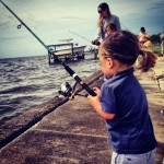 Mother's Day Fishing