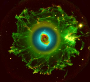 "Hubble Telescope ""Cat's Eye"" Nebula"