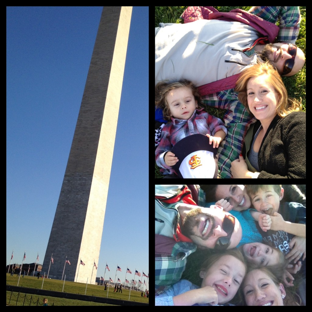 Washington Monument Chillin'