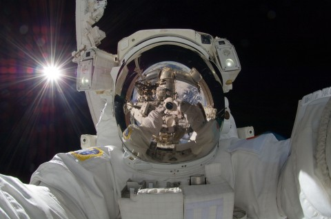 Astronaut Self-portrait